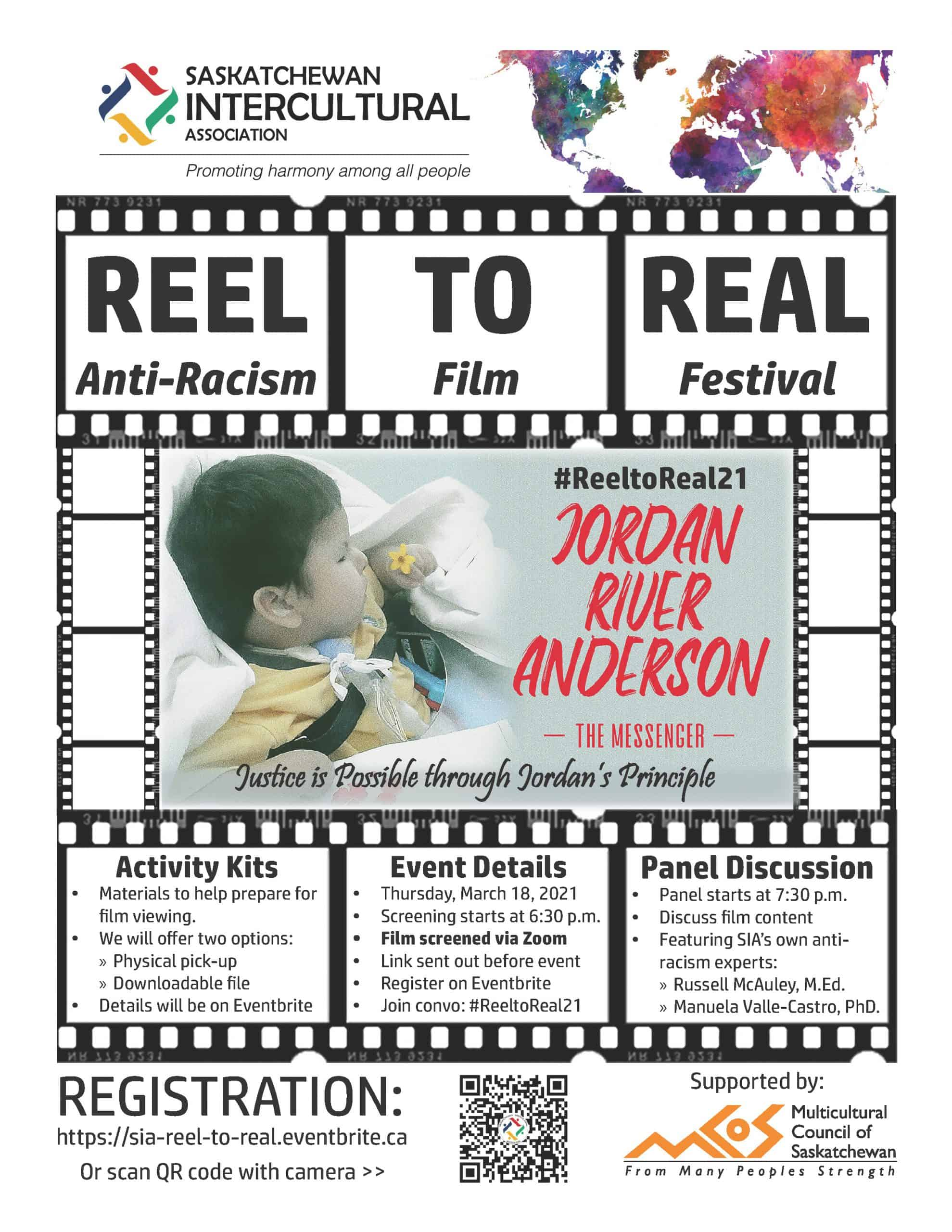 Reel to Real Anti-Racism Film Festival